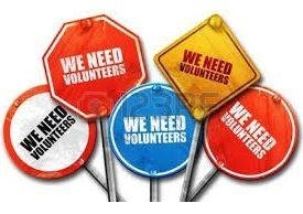 We Need Volunteers