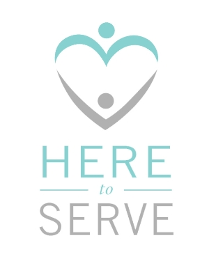 Here to Serve Logo