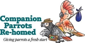 Companion Parrot's Re-homed Logo
