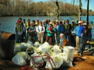 Cape Fear River Watch Cleanup