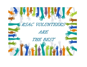 RSAC volunteers are the best