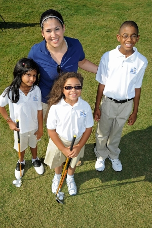 The First Tee of Greater Houston Volunteers