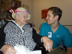 Make A Connection-Become a Hospice Volunteer