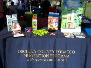 Health Fair Table