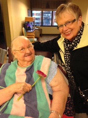 hospice volunteers are day brighteners