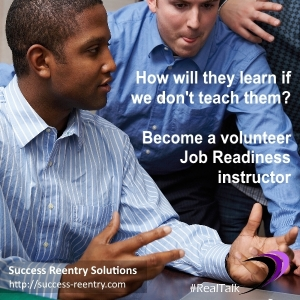 Volunteer Job Readiness Instructor
