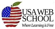 USA Web School Logo