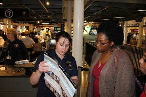 Volunteer at park's downtown Boston Visitor Center
