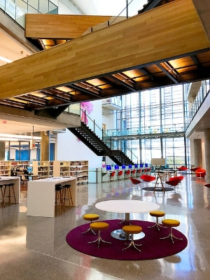 New Central Library Atrium