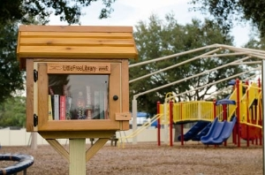 Little Free Library at Longwood Park