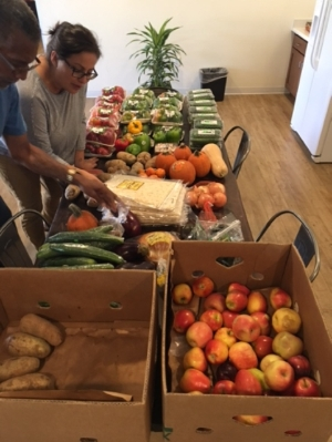 Food donation sorting